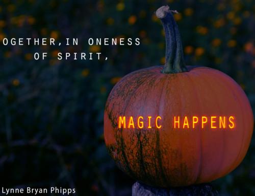 Halloween Reflection: Oneness of Spirit