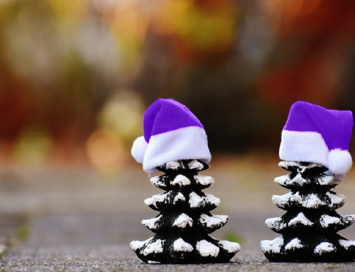 Purple is the New Red: Help Calm Your Christmas Woes